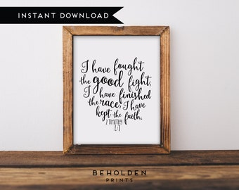 Digital Download, Scripture Printable, Bible Verse Wall Art, Hand Lettered Print, Calligraphy,Bible Verse Print,Scripture Wall Art,Printable