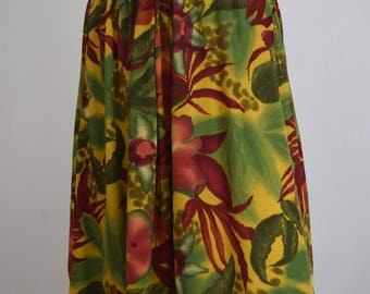 Jungle Floral High Waisted Shorts