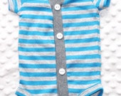 Baby Boy Cardigan, Teal, Grey Stripes, Trendy Baby Boy, Baby Boy Outfit, Baby Boy Coming Home Outfit, Baby Boy Clothes, Smash Cake Outfit