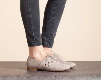 SALE!! Flat Shoes , Shoes , Lace Up Shoes , Oxfords ,  Leather Shoes , Flats , Handmade Shoes , Women Shoes // free shipping