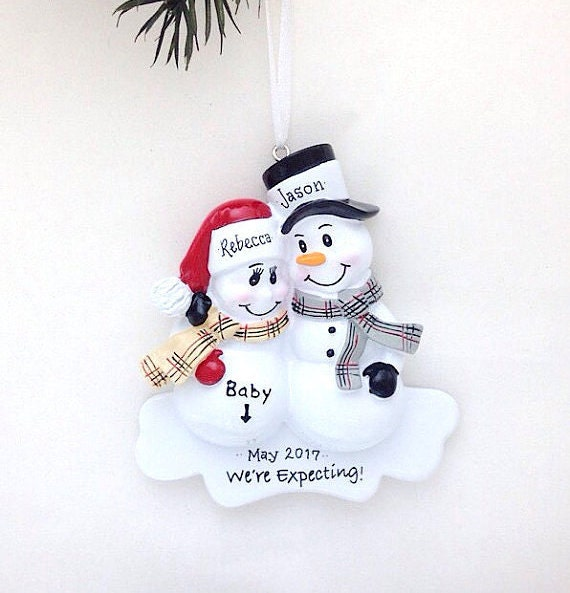 Expecting Parents Christmas Ornament / We're Expecting