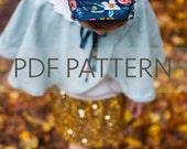 Lottie Bonnet PDF, bonnet pattern, newborn bonnet pdf, sewing pattern, toddler bonnet pdf, baby patterns, baby bonnet pdf