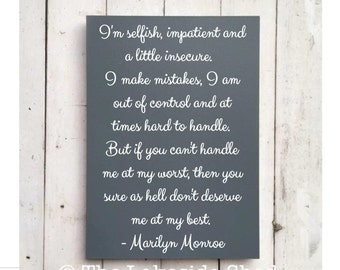 """Marilyn Monroe Quote 