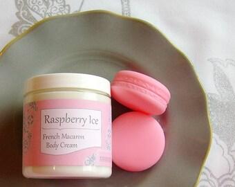 French Macaron Body Cream - Raspberry Ice // + Free Sample