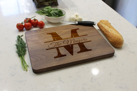 engraved cutting board personalized cutting board custom cutting board engraved 29633