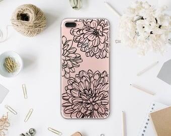 Froral iPhone 8 Plus Case Phone Case iPhone 7 Samsung Galaxy S8 Case iPhone 8 Case iPhone X Case Samsung S9 Case Galaxy S7 Edge Case WA1053
