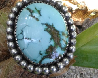 Cheyenne Turquoise straight from the Nevada miner is waiting you to show her off!