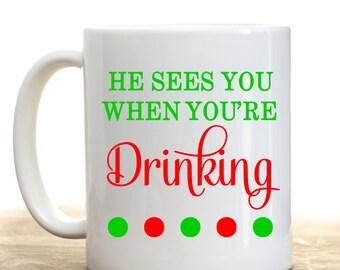 Christmas Coffee Mug, Christmas Gift, Holiday Coffee Mug, Christmas Office Gifts , Personalized Coffee Mug, Personalized Christmas Gift,