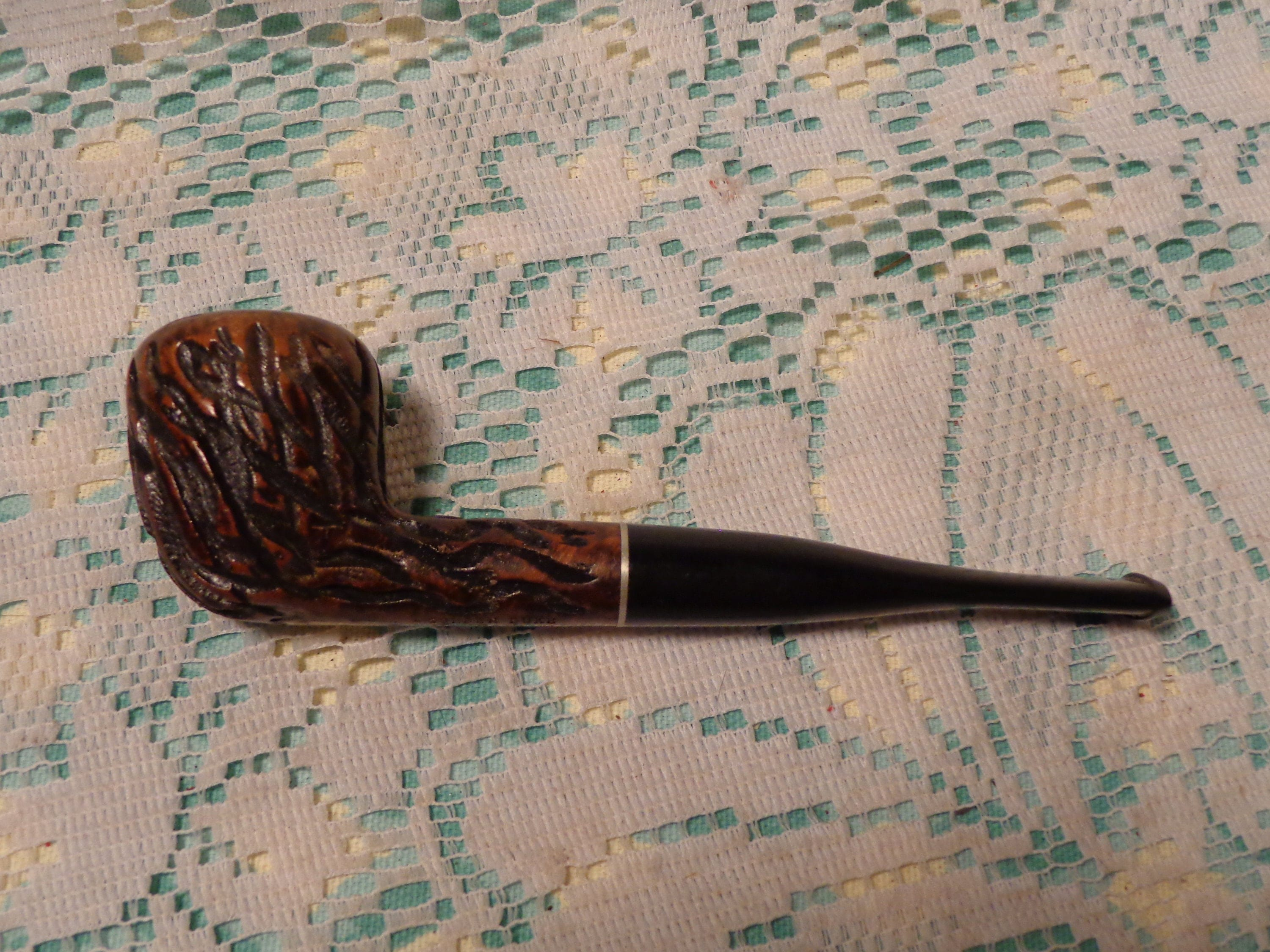 vintage de tabac pipe golden duc pipe faite par dr grabow. Black Bedroom Furniture Sets. Home Design Ideas