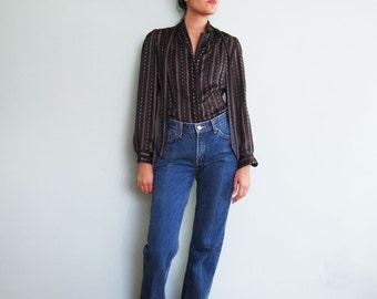 Levis 517 Jeans / Vintage Levis Denim / Dark Wash / Boot Cut / Levi's  28