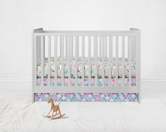 Soho Mermaid Crib Bedding