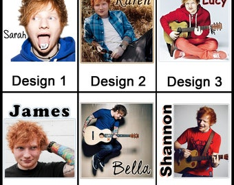 Personalised Ed Sheeran Mug - Ceramic Coffee Mug - With any Name or Message - Gift Idea