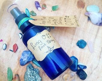 FungOff Foot Spray - Athletes Foot Natural Foot Spray - Anti Fungal Blend - Artisan Aromatherapy
