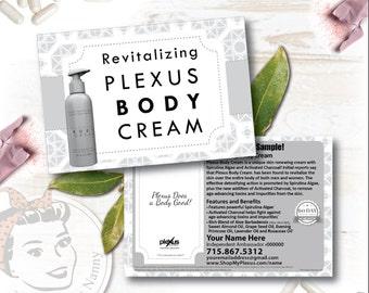 Plexus Body Cream Sample Postcard - Free Shipping