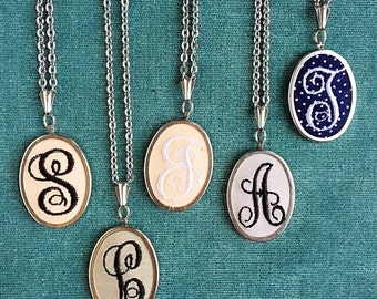 Initial Necklace. Monogram Necklace. Custom Necklace. Letter Necklace. Personalized Jewelry. Gift for Her