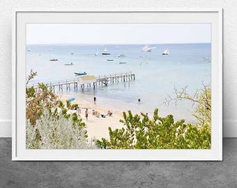 MP, DIGITAL Download, Mornington Peninsula, Fine Art Photography, Beach Print, Summer Print, Wall Art, Home Decor, Nautical Print, Pastel