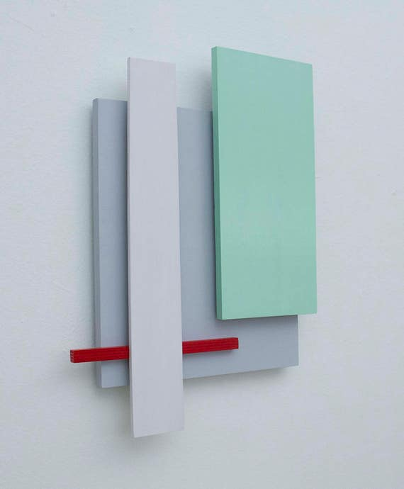 Original 3-Dimensional Abstract Wall Sculpture | Abstract Wall Art | Minimalist Art | Geometric Art