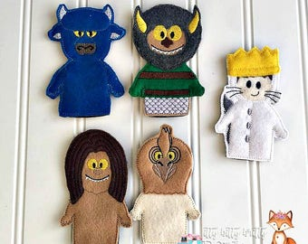 Where the wild things are, Finger puppet