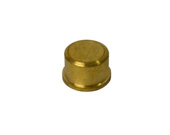 """1/2"""" - 12.5 mm Non-Marring Brass Insert Hammer Replacement Head - HAM-370.10"""