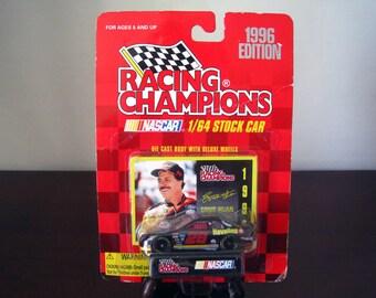 Nascar Racing Champions 1996 Edition Ernie Irvan 1/64 Stock Car with Card #28 Havoline