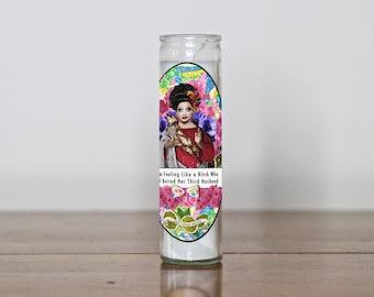 Bianca Del Rio Pop Culture Votive Candle