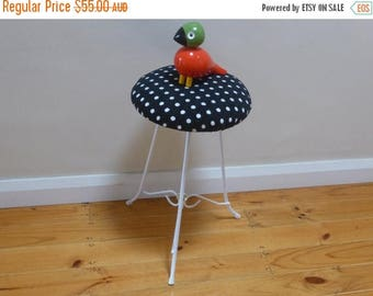 A DooZy dotty restored stool
