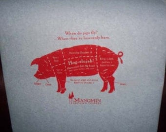Personalized Adult Party Bibs - any occasion - free artwork! We're the manufacturer! Crawfish boils, Crab feeds, Grab some Bibs!