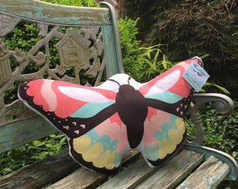 Butterfly pillow custom colors