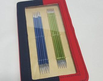 KnitPro ZING double pointed needle set, 15cm or 20cm