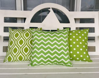 Spring Green Pillow Cover