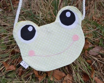 Kid's Froggy Crossbody Bag, Handbag