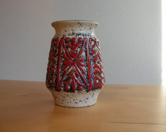 West German Fat Lava era small vase