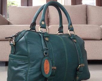 Madelline Leather Handbag