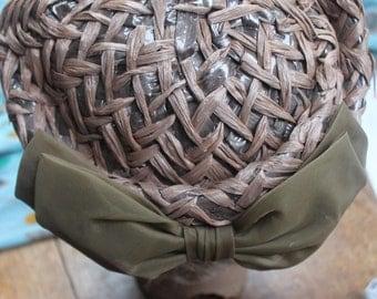 Rafia style 60s hat REF 428