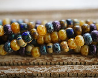 Picasso Mix, Seed Beads, Czech Beads, Beads, N2337