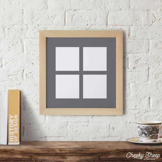 mat marco de la ventana del cuadro de 12 x 12 cuadro marco