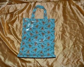 Vintage Harrods Teddy Bear Tote Bag