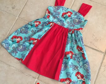 Princess Ariel dress, toddler Ariel dress