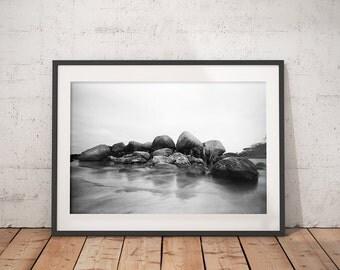 Printable art, Wall art, Photography Poster, Printable Photography, Black White Photo, Pinhole