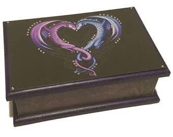 Twin Dragons Keepsake Box
