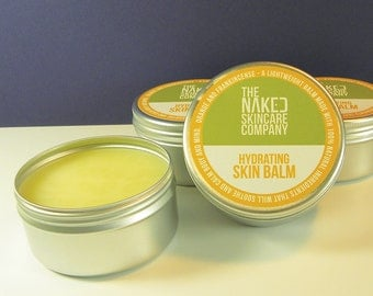 Orange & Frankincense Hydrating Skin Balm//Natural Skincare//Moisturiser/Essential Oils