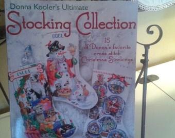 Cross Stitch Christmas Stocking Pattern Book