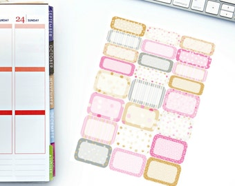 Confetti Kindness Half/Quarter Box Planner Stickers! Perfect for your Erin Condren Life Planner, calendar, Paper Plum, Filofax!