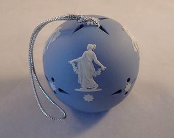 Wedgwood Jasperware Floral Girls Pomander Ball, Scent Ball