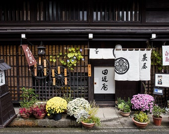 Japan Photography, Takayama Restaurant, Takayama , Gallery Wall Art, Michael Evans, Japanese Style, Travel Photography, Beautiful Japan