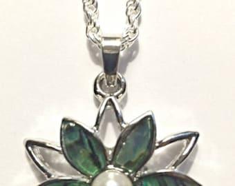 New Zealand Abalone Shell Pendant Necklace