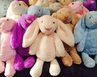 PERSONALIZED JELLYCAT  Perfect  For Easter , Birthdays or any Celebration