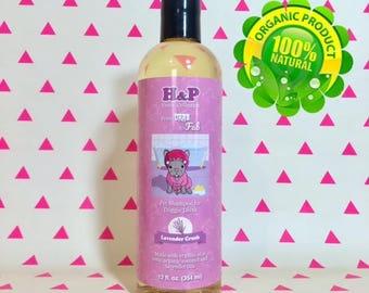 Lavender Crush Organic Pet Shampoo