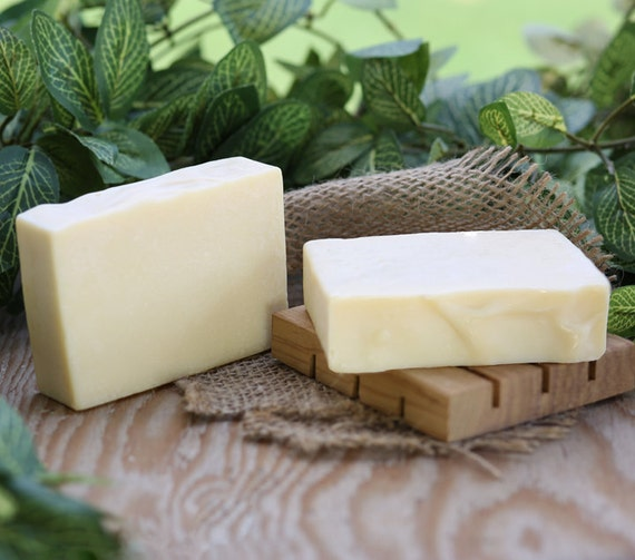 Organic Coconut Milk Bastille Unscented, Handmade Soap