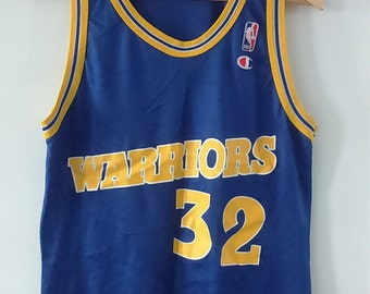 Rare Vintage Champion NBA Warriors Smith Basketball Jersey